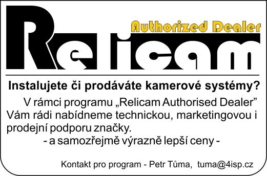 RELICAM authorized partner